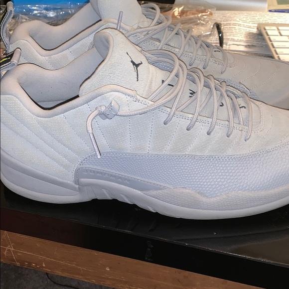 new styles 9e4c2 e5dcb Air Jordan 12 Low 'Cool Grey'